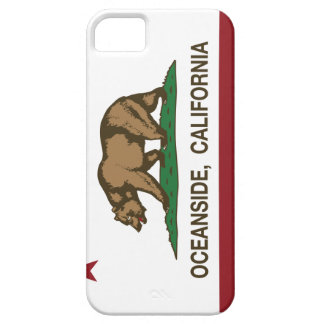 California State Flag Oceanside iPhone 5 Cover