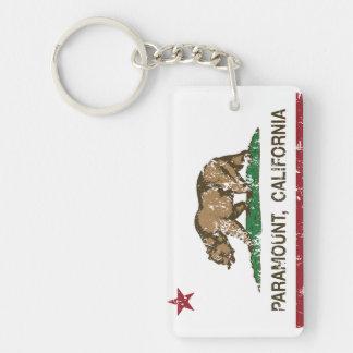 California State Flag Paramount Key Ring