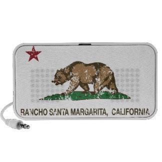 California State Flag Rancho Santa Margarita Mp3 Speakers