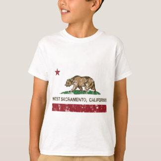 California state flag West sacramento T-Shirt