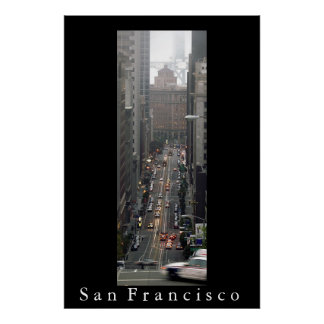 California Street, San Francisco Poster