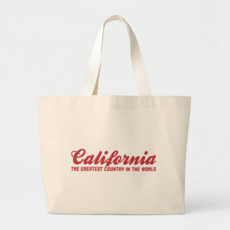 california the greatest country in the world jumbo tote bag