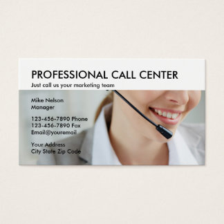 18 sales call business cards and sales call business card templates call center marketing business card reheart Choice Image