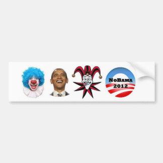 Call off the clowns bumper sticker