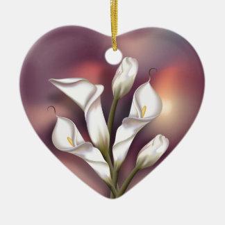 Calla Bouquet Christmas Ornament