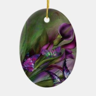 Calla Lilies Art Ornament