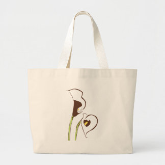 Calla Lilly Large Tote Bag