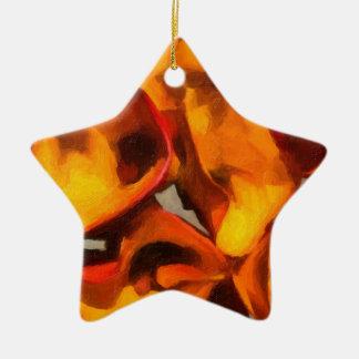 Calla Lily Bouquet Christmas Ornament