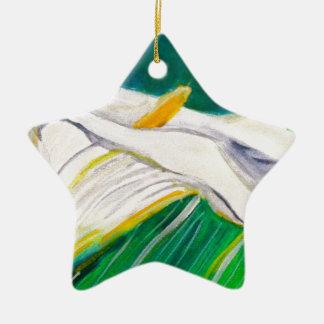 Calla Lily Christmas Ornament