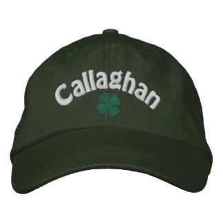 Callaghan - Four Leaf Clover - Customized Embroidered Hat