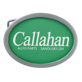Callahan Auto Parts Belt Buckle