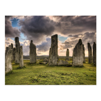 Callanish Standing Stones Postcard
