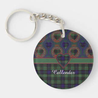 Callendar clan Plaid Scottish kilt tartan Key Ring