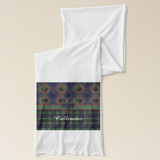 Callendar clan Plaid Scottish kilt tartan Scarf