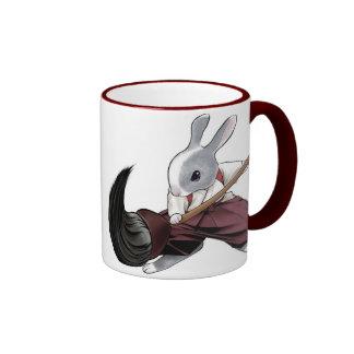 Calligrapher Rabbit - Mug-