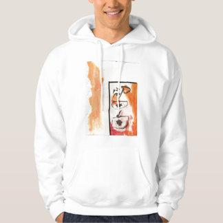 calligraphy hoodie
