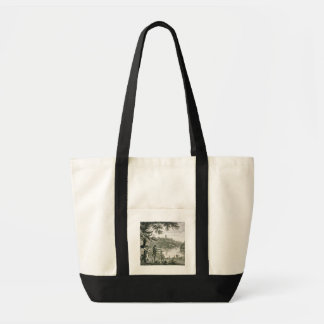Calling card of Humphrey Repton, engraved by Thoma Tote Bag
