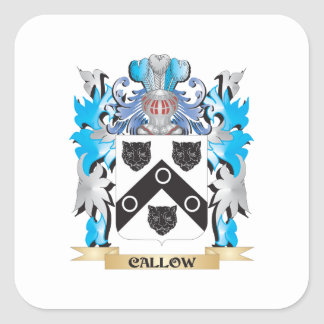 Callow Coat of Arms - Family Crest Sticker
