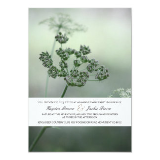 Calm Botanicals | Anniversary Party Invitation