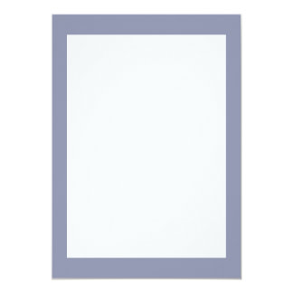 Calm Gray Solid Color Customize It Card