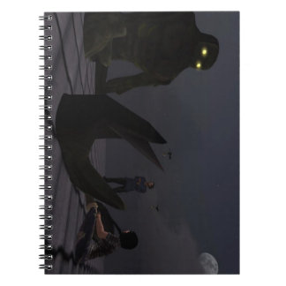 """Calming the Giant"" Photo Notebook (80 Pages B&W)"