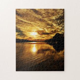 Caloosahatchee River Sunset Puzzle