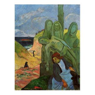 Calvaire breton by Paul Gauguin Postcard