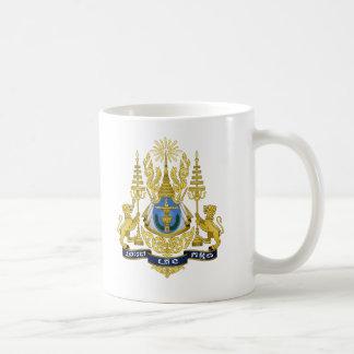 Cambodia Coat of Arms Basic White Mug