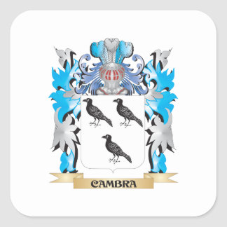 Cambra Coat of Arms - Family Crest Stickers