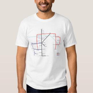 Camden Town Pub Map Tshirt