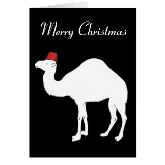 Camel Christmas Card
