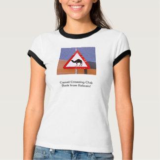 Camel Crossing Club back Bahrain (front/back) T-Shirt