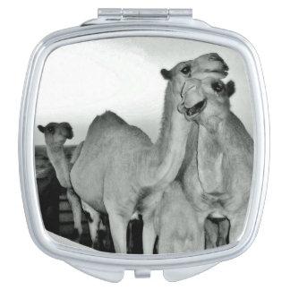 Camel Love Makeup Mirror