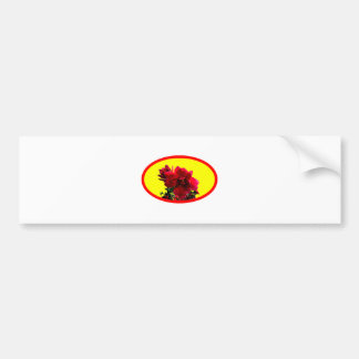 Camellia bg Yellow The MUSEUM Zazzle Gifts Bumper Stickers