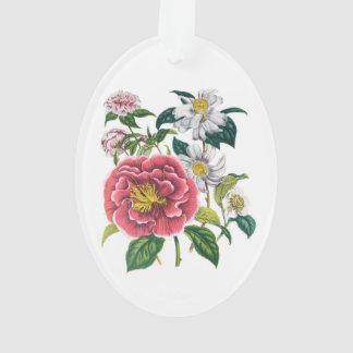 Camellias Ornament