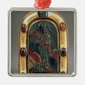 Cameo of Christ giving Blessing Christmas Ornament