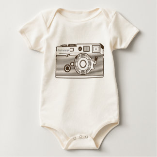 Camera graphic products baby bodysuit
