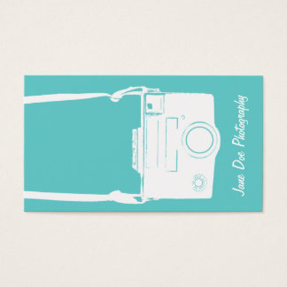 Camera Photography Teal Blue Vintage White Film