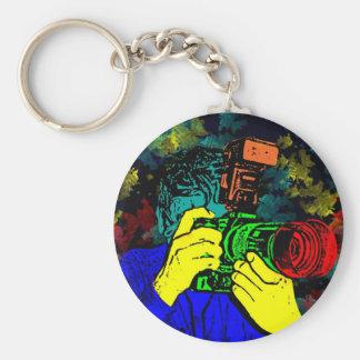 CameraMan 3D ChromaDepth Key Ring
