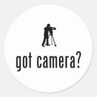 Cameraman Classic Round Sticker