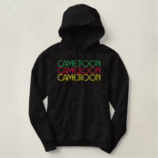 Cameroon 2010 embroidered hoodie