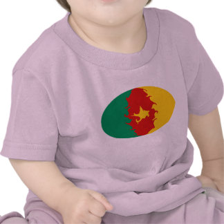 Cameroon Gnarly Flag T-Shirt