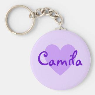 Camila in Purple Key Ring