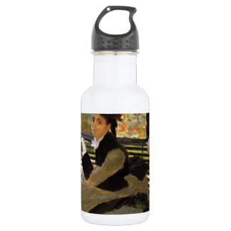 Camille Monet On Garden Bench 532 Ml Water Bottle