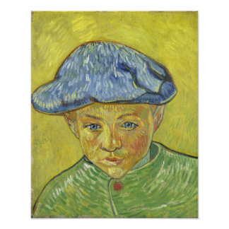 Camille Roulin by Vincent Van Gogh Photo Print