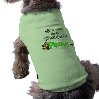 Camiseta para perro PEGUI Pet Tshirt