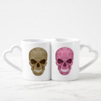 Camo And Pink Camo Skulls His And Hers Mug Set