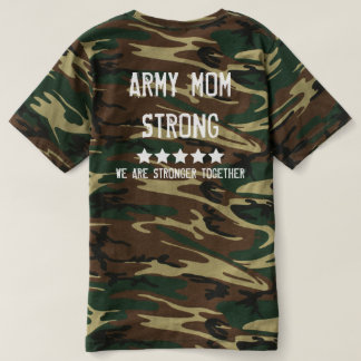 Camo Band Of Mothers - Army Mom Strong T-Shirt