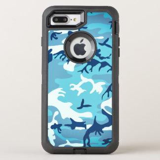 Camo (blue) OtterBox defender iPhone 8 plus/7 plus case