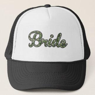 Camo Bride Trucker Hat